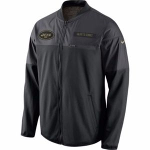Nike New York Jets Salute To Service Zip Up Jacket